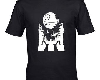 R2D2 Endor silhouette T-shirt