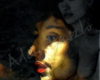 Intrigue 01 / 80 x 60 cm