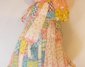 Darling Holly Hobbie Pillow in Calico