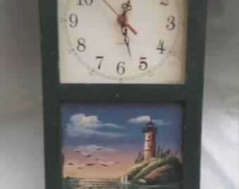 Beautifully painted clock