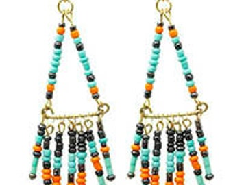 NATIVE AMERICAN INSPIRED Earrings*