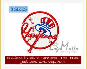 New YORK YANKEES EMBROIDERY designs Mlb Baseball logos