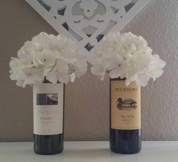 Wedding Vases For Sale: BULK SALE 10 Wine Bottle Vases Wedding By WineLoversWedding