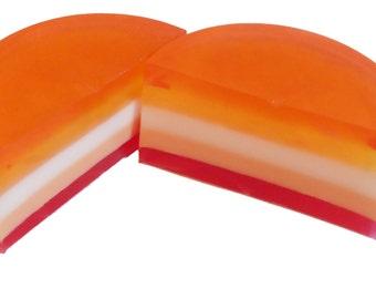 1 x Fruit soap