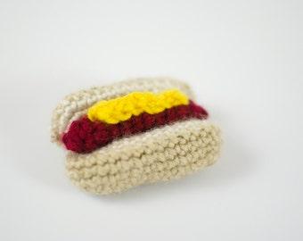 Hotdog Catnip Cat Toy hot dog
