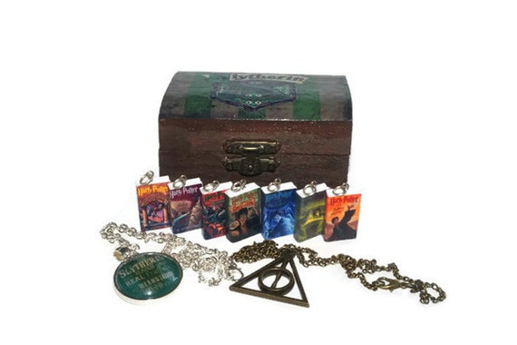 Harry Potter Book Chest : Slytherin trunk harry potter book chest hogwarts by