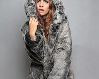 Wolf coat Cruelty Free