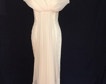 Chic Old Hollywood Glamour Jessica McClintock Wedding Dress