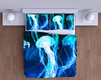 Jellyfish Duvet Cover - Super Soft Duvet
