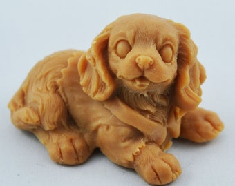 3-D Soap, Vegetable Glycerin Soaps, Gifts for guys and Dog lovers gifts for her Decorative soaps