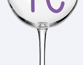 Personalized Wine Glasses, Bridesmaid Gifts