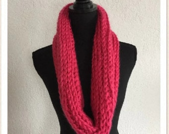 Crocheted XL Cowl 2-sided (Only 1 color left!)