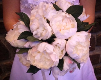 White Wedding Bridal Bouquet Wedding Bouquet