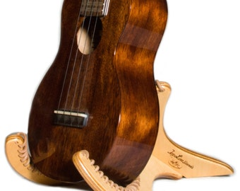 Handcrafted Ukulele Stand by TopLine Instrument Stands