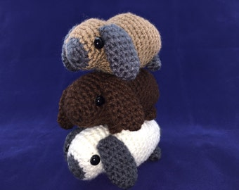 Crocheted Baby Bunny
