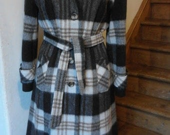 Vintage Wool and Mohair Coat