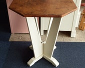Octagonal Wine Table (Upcycled)  23