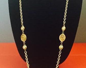 Vintage Chanel Necklace-Circa 1970's