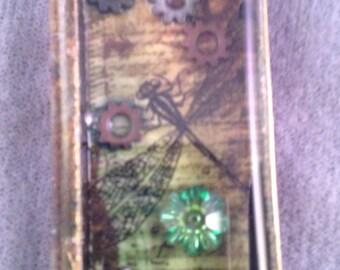 Steampunk Dragonfly Pendant