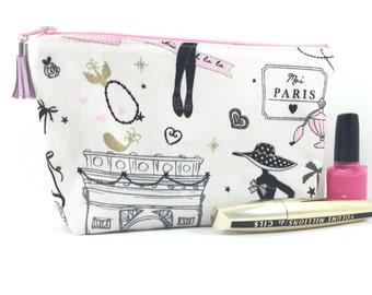 Kit makeup me Paris pink black ecru gold