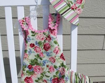 Infant Sun Dress, vintage inspired