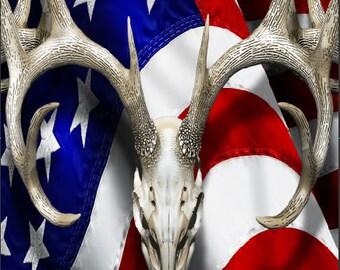American Deer Oblit Skull Pink Camo Cornhole Wrap Bag Toss Decal Baggo Skin Sticker Wraps