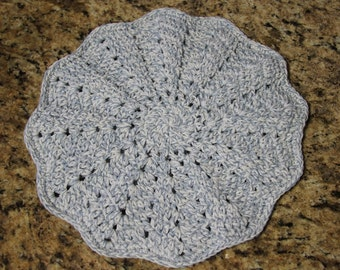 Double Layered, Trivet, Crocheted Trivet, Hot Pad, Hot Plate