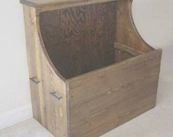 Fireplace Wood Storage Box
