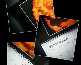 12 Month Wall Calendar - Floral