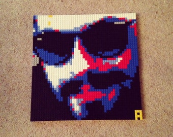 Your face out of Lego!