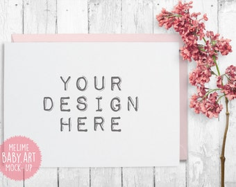 Cards Mockups, Styled Photography Mock Up, 5x7 Invitations Mockup, Shabby Chic Photography (A8.Card)