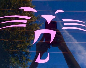 Panthers Whisker Decal