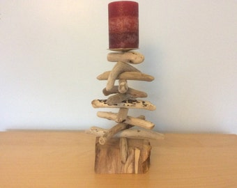 Driftwood Tree Candle Holder