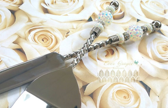 Wedding Gift Cake Knife : ... Cake Server Set/Cake Serving Set/Bridal Shower Gift/Wedding Gift