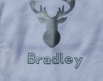 Personalized Deer Onsie Tshirt
