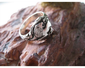 men's silver ring, lion ring, silver rings for men, men's silver sterling ring, sterling silver ring, silver ring lion, men's ring, lion