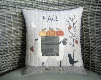 Cushions, Gifts, Gifts for Her, Gifts for Girls - Fall Sheep Cushion