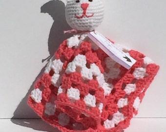 Happy Bunny Hug Blanket