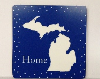 State Magnet, Michigan Lovers, Michigan Magnet, Michigan Lover Magnet,  Michigan Home Magnet, Michigan Frig Magnet, Large Michigan Magnet