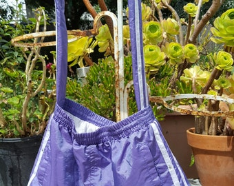 Lavender Running Pants Purse
