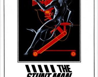The Stunt Man Movie Poster Peter O'Toole Barbara Hershey The Biz 24x36