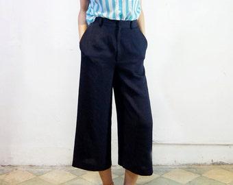 See tru strip shirt / High-waist skirt pants