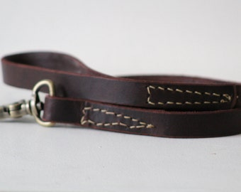 Traditional Leather Leash