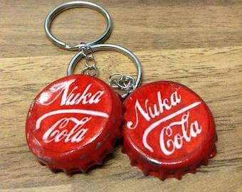 Fallout Bottle Cap Key Ring