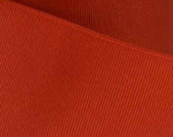 Clay Red Grosgrain Ribbon    (05-##-S-176)