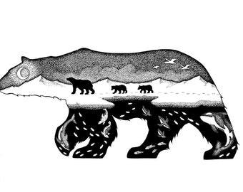 Symbiosis - original drawing
