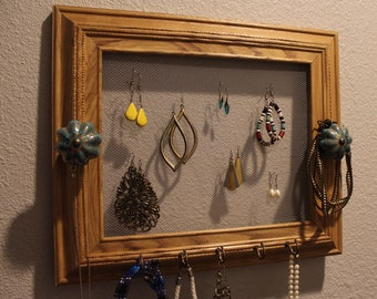 ALL NATURAL - jewelry holder, jewelry hanger, jewelry storage