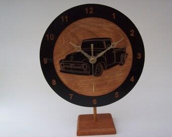 56 Ford P/U Clock