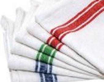 Monogrammed Dish Towels (Set of 3)