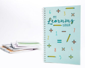 My Learning Ledger - Spearmint Blue / Learning Toy